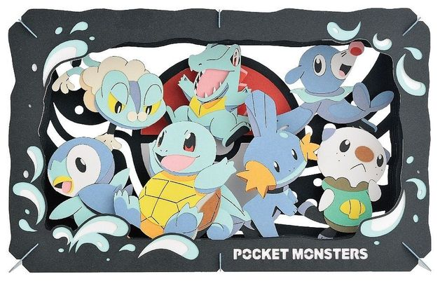 Pokemon Paper Theater Type: Water
