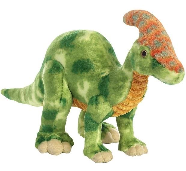 """Aurora: Parasaurolophus - 16"""" Dinosaur Plush image"""