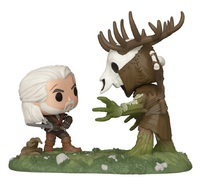 The Witcher: Wild Hunt - Geralt vs Leshen - Pop! Moments Figure