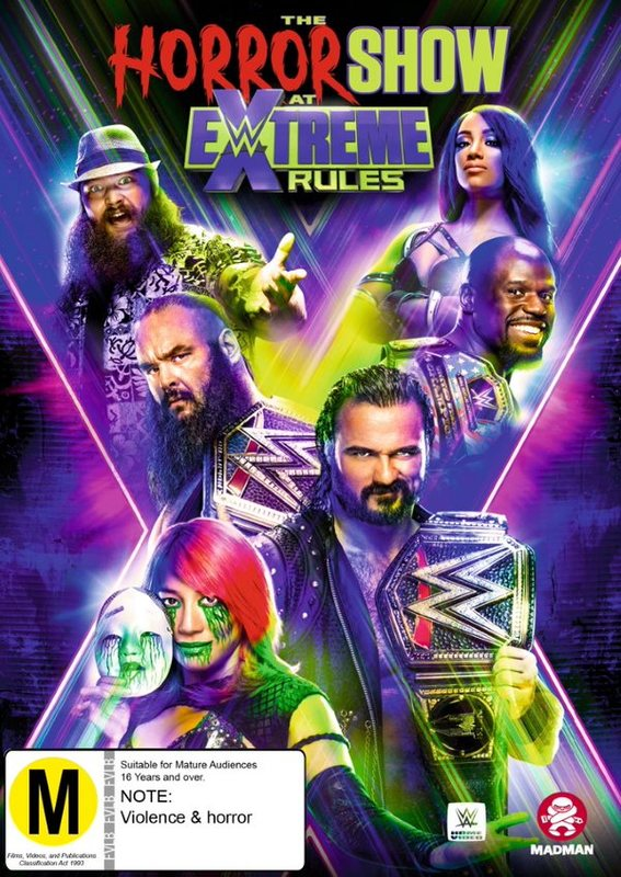 WWE: Extreme Rules 2020 on DVD