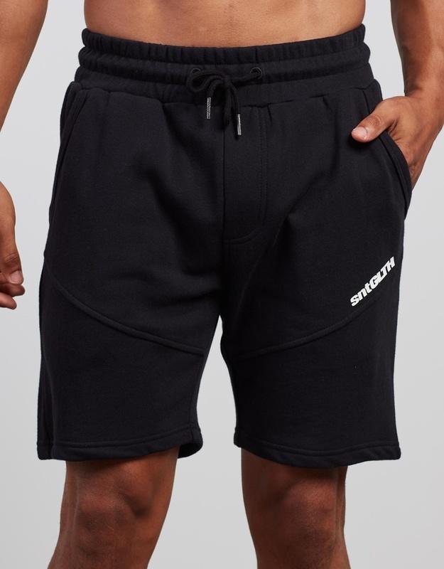 St Goliath: League Pass Fleece Short - Black (Size Medium)