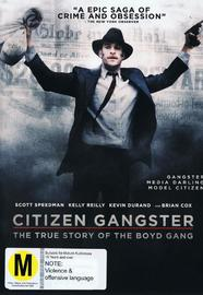 Citizen Gangster on DVD