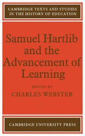 Samuel Hartlib and the Advancement of Learning image