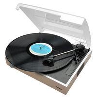 mbeat Wooden Style Slimline USB Turntable Recorder