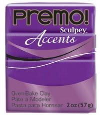 Sculpey Premo Accent Purple Pearl (57g)