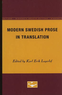 Modern Swedish Prose in Translation image