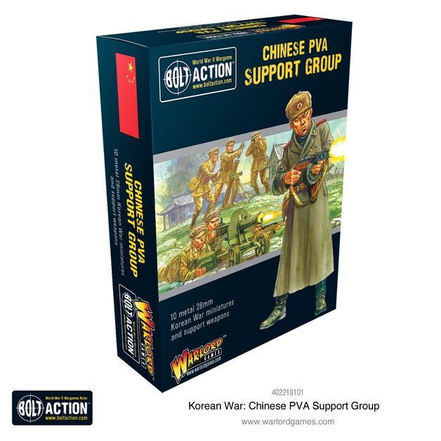 Bolt Action: Chinese PLA support group