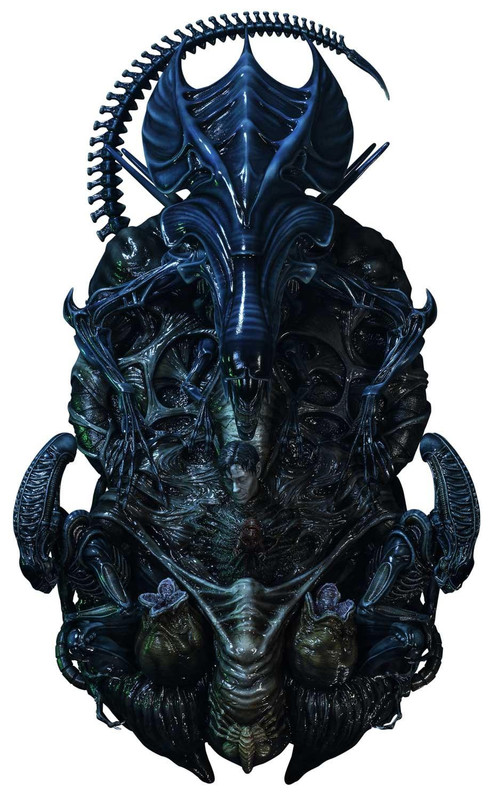 """Alien: Xenomorph Queen - 22"""" 3D Wall Art"""