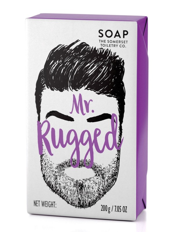 Somerset Toiletry Co: Bearded Mens Soap - Mr Rugged