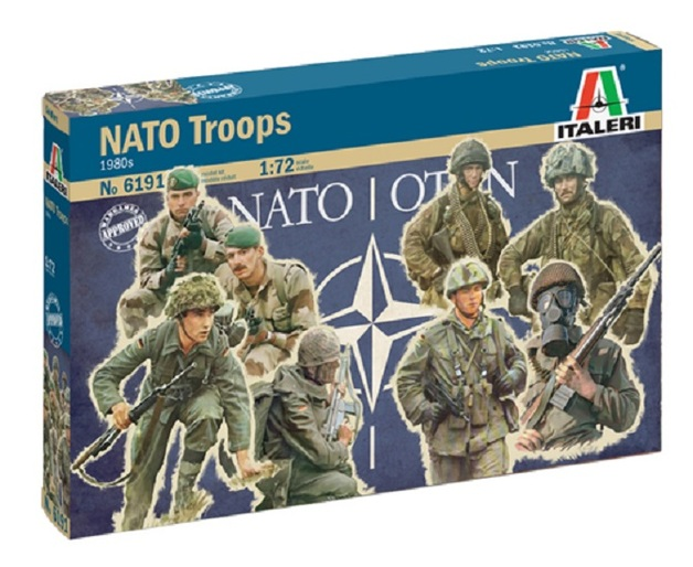 Italeri: 1/72 NATO Troops - Model Kit