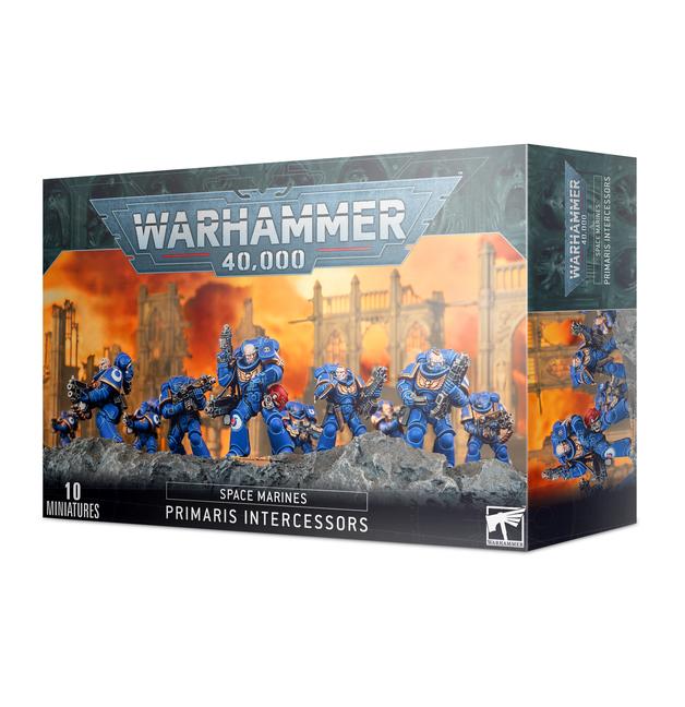 Warhammer 40,000 : Space Marine Primaris Intercessors