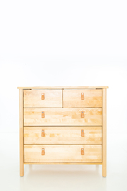 Astrid 5 Drawer Chest Dresser Tall Boy
