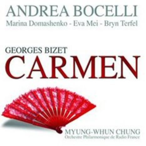 Bizet: Carmen by Andrea Bocelli, Bryn Terfel image