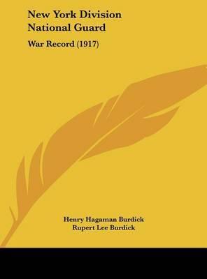 New York Division National Guard: War Record (1917) image