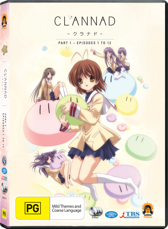 Clannad - Part One (3 Disc Set) on DVD