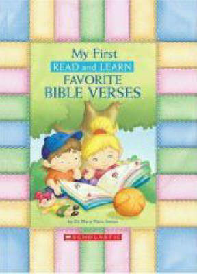 My First Read and Learn Favourite Bible Verses by Mary Manz Simon
