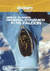 Great Planes - F-16 Falcon on DVD