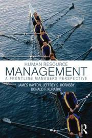 Human Resource Management by James Hayton
