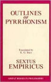 Outlines Of Pyrrhonism by Empiricus Sextus image