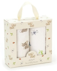 Jellycat: Bashful Bunny - Muslin Set