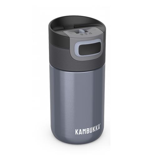 Kambukka: Etna 3-in-1 Snapclean Travel Mug - Blue Steel (300ml)