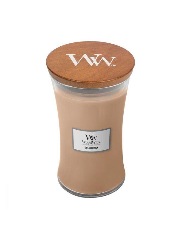 Woodwick: Golden Milk (Large)