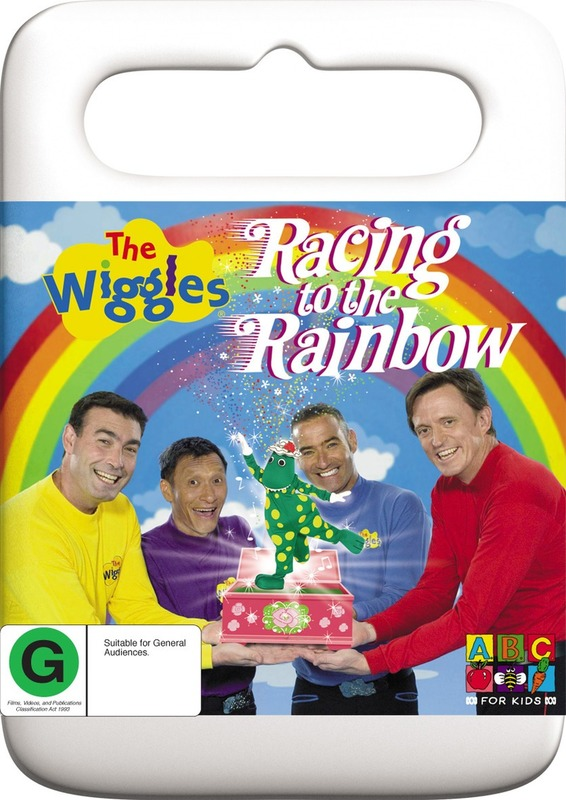 The Wiggles - Racing To The Rainbow on DVD