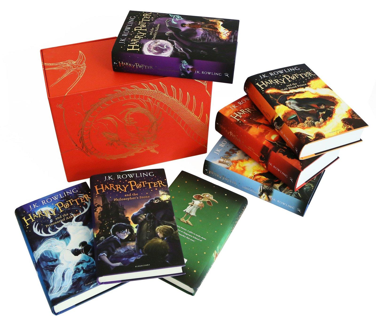 Harry Potter Book Box Set Australia ~ Harry potter box set j k rowling book in stock buy