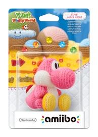 Nintendo Amiibo Pink Yoshi - Yoshi's Woolly World Figure for Nintendo Wii U
