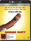 Sausage Party (4K UHD + Blu-ray) DVD