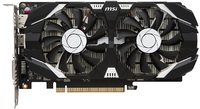 MSI GeForce GTX 1050 TI 4GB OC V1 Graphics Card