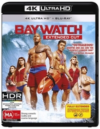 Baywatch (2017) on UHD Blu-ray