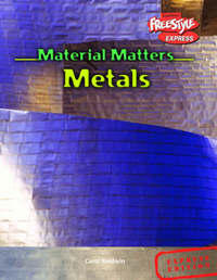 Freestyle Express Material Matters Metals Hardback by Carol Baldwin image