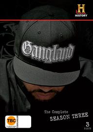 Gangland - Season 3 (3 Disc Set) on DVD