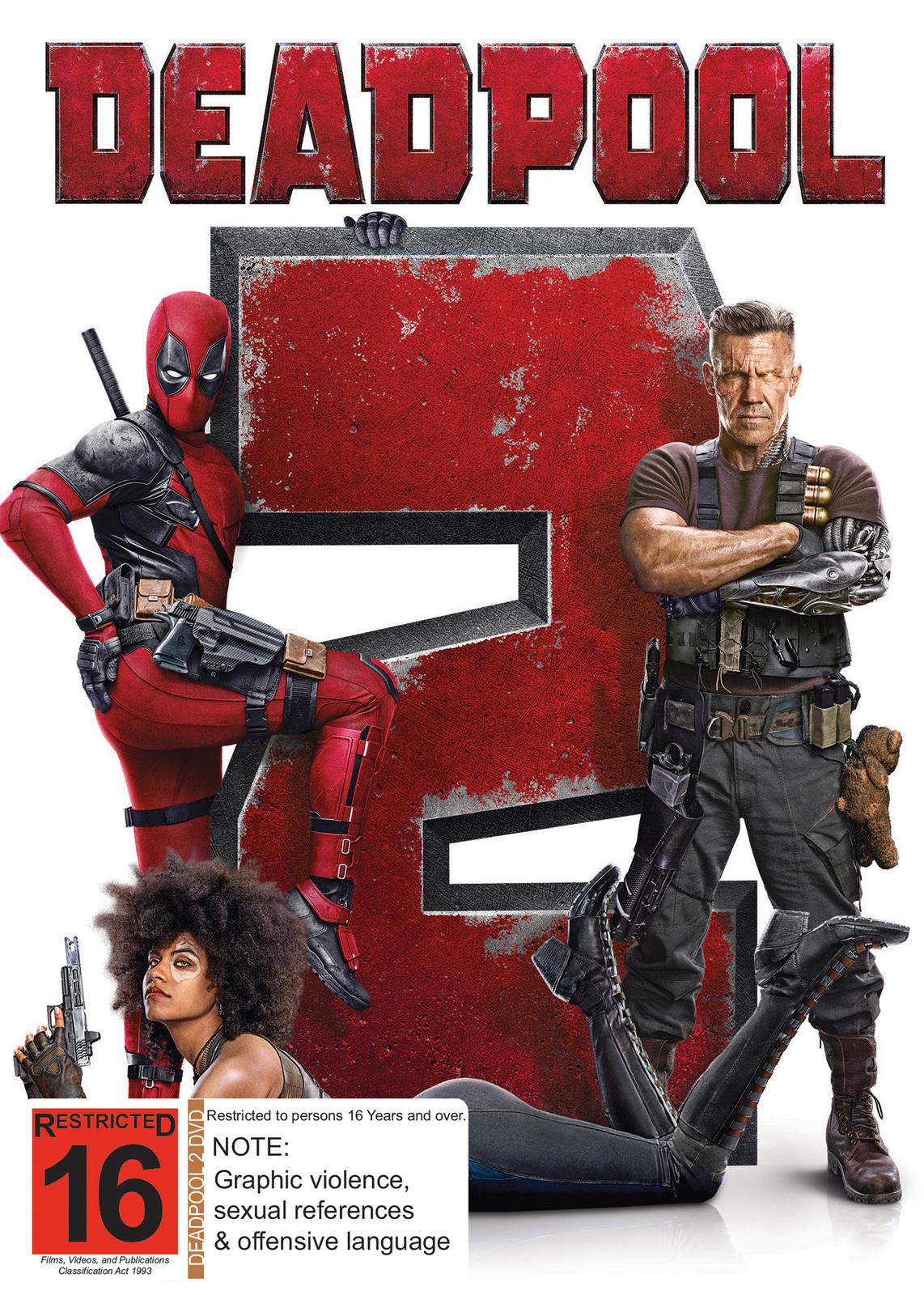 Deadpool 2 on DVD image