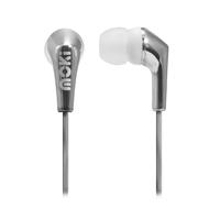 Moki Metallics Earphone -Silver