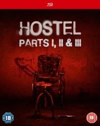 Hostel 1-3 on Blu-ray
