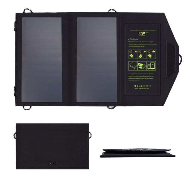 5V 14W Foldable Solar Panel Charger