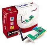 Genius WIRELESS PCI LAN CARD 54MBPS
