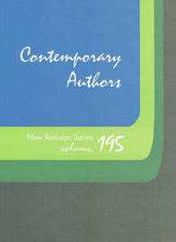 Contemporary Authors New Revision Series, Volume 195 image