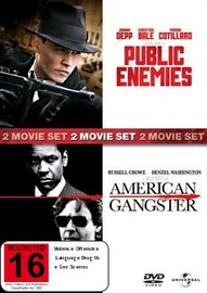 Public Enemies / American Gangster (2 Disc Set) on DVD