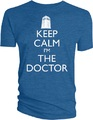 Doctor Who Keep Calm I'm the Doctor Men's T-Shirt (Small)