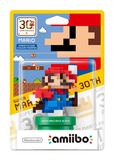 Nintendo Amiibo 8 Bit Mario Modern - Super Mario Maker Figure for Nintendo Wii U
