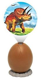 Projector Egg - Triceratops (Brown)
