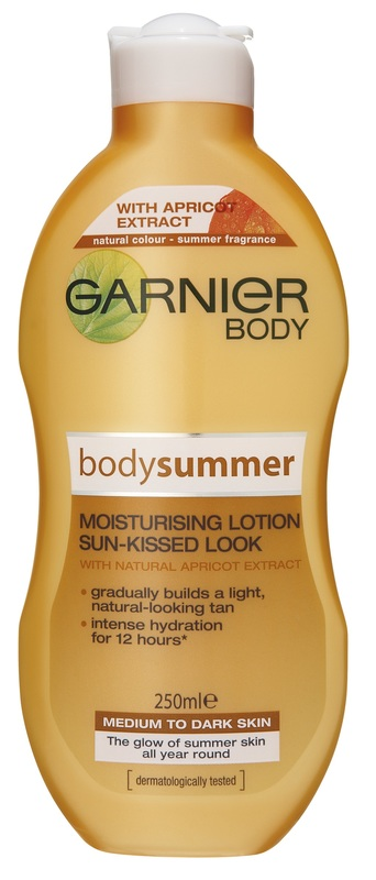 Garnier Body Summer Moisturising Lotion - Medium to Dark (250ml)