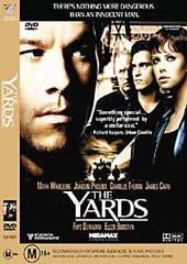 The Yards on DVD
