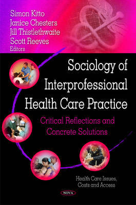 Sociology of Interprofessional Health Care Practice image