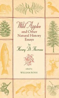 Wild Apples and Other Natural History Essays by Henry D Thoreau image
