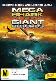 Mega Shark Vs Giant Octopus on DVD