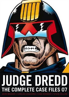 Judge Dredd: The Complete Case Files 07 by John Wagner image